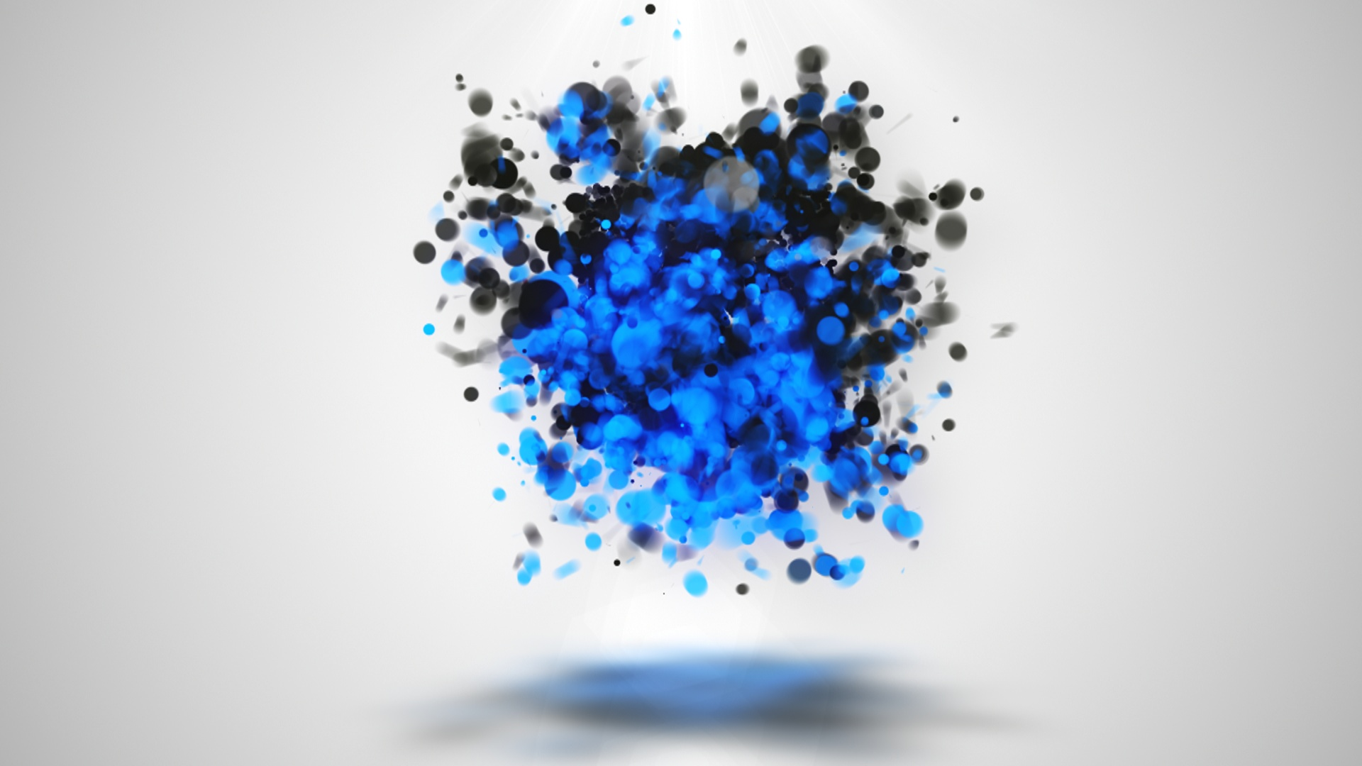 particle logo reveal intro template  112